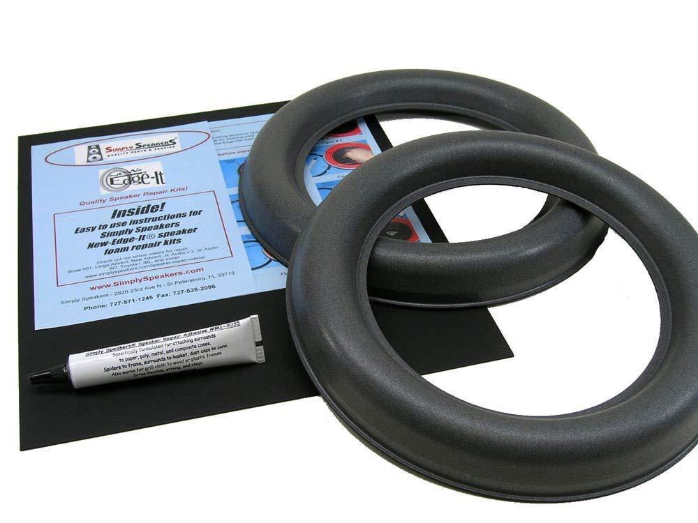 JL Audio 10W7 Speaker Foam Edge Repair Kit, 10'', 10W7, Extra Wide Roll, FSK-10JL-W7 (Pair)