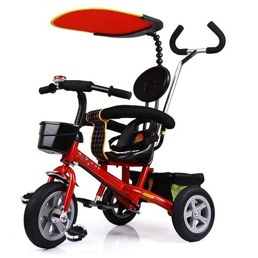 QXMEI 4 En 1 Triciclo para Niños Arnés De 2 Puntos Cinturón De ...