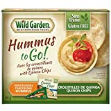 Wild Garden Hummus to Go! Traditional with Quinoa Chips, 64g