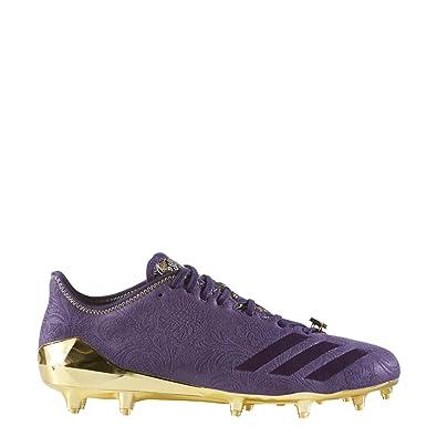 Amazon.com   adidas Adizero 5Star 6.0 Sunday's Best Cleat Men's Football 15  Dark Purple-Eggplant-Metallic Gold   Shoes