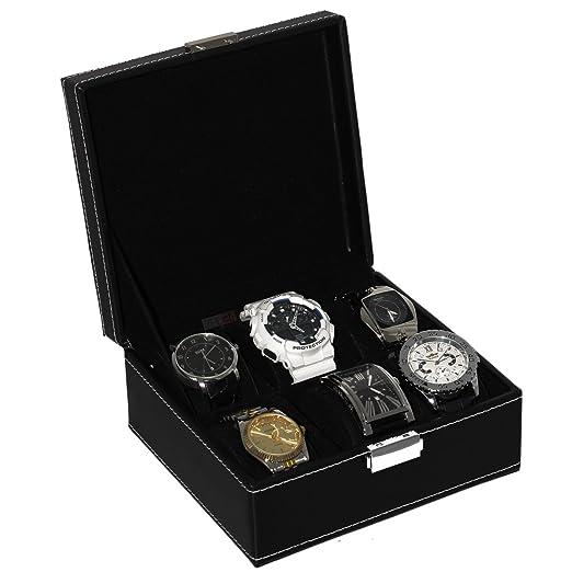 37 opinioni per Custodia portaorologi box per 6 orologi scatola 6 posti cofanetto