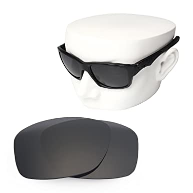 a27debdc4bff2 OOWLIT Replacement Sunglass Lenses for Oakley Jupiter Squared POLARIZED ( Black