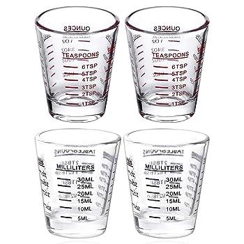 BCnmviku Liquid Shot Glasses