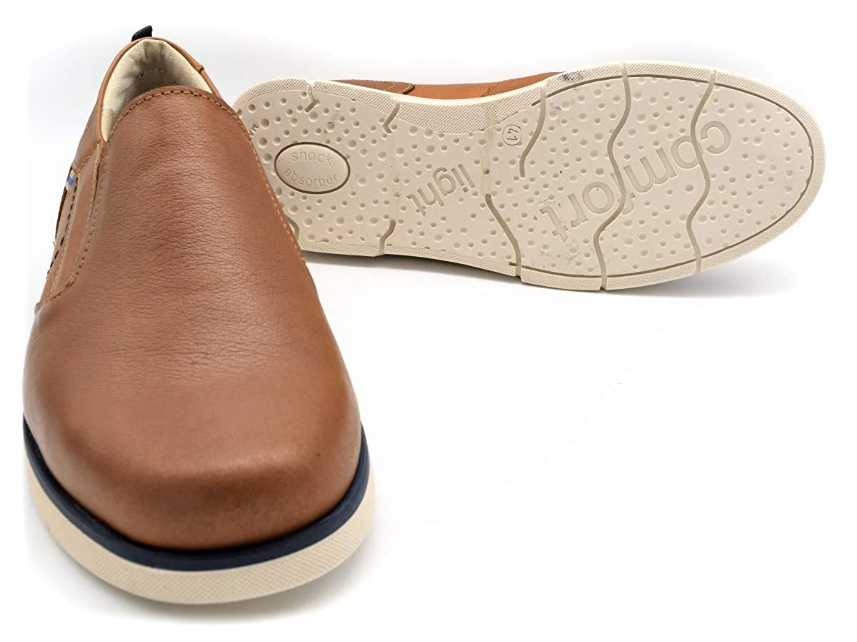 Zapato Mocasin Himalaya M-2710 Marron - Marron, 40: Amazon.es: Zapatos y complementos