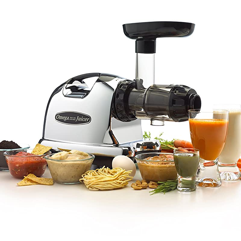 Omega 8006 Nutrition System Masticating Juicer Review