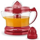Espremedor de Frutas Mondial, Turbo Citrus Red Premium, 127V, 30W - E-23