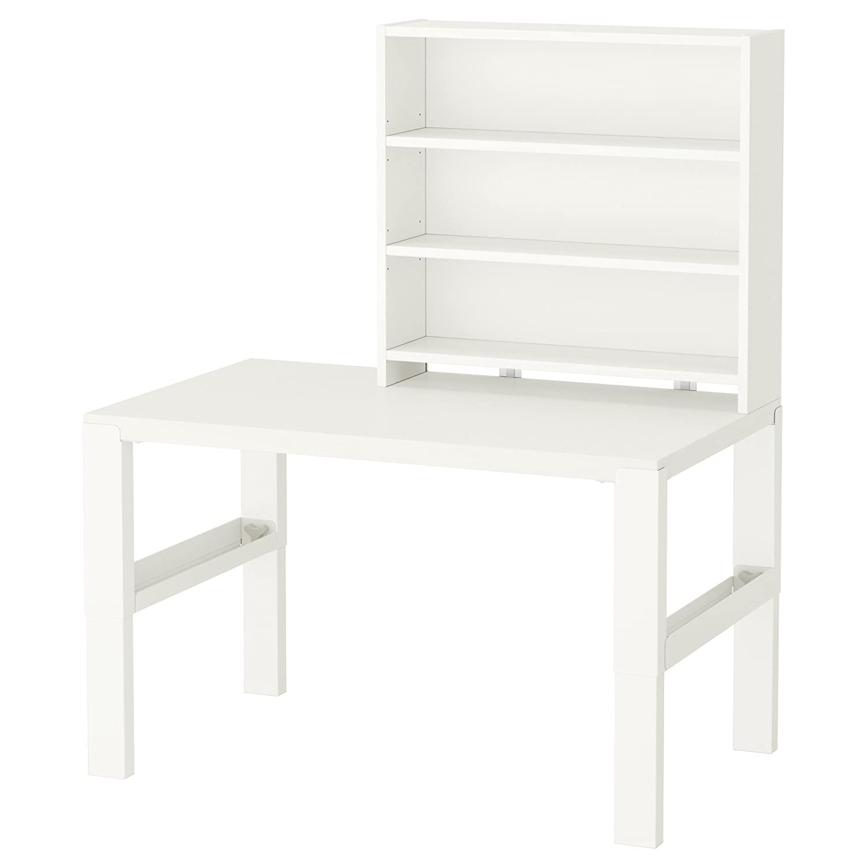 ZigZag Trading Ltd Ikea Pahl – Schreibtisch mit Regal Weißszlig;