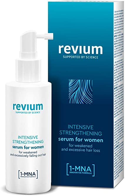 Oferta amazon: REVIUM ANTI-HAIR LOSS INTENSIVE SERUM IN SPRAY FOR WOMEN, WITH 1-MNA MOLECULE, H-VIT COMPLEX AND ARGININE, FOR WEAK EXCESSIVELY FALLING OUT HAIR 150 ml
