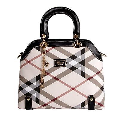 LVCSIUE European Style Women s PVC Leather Handbags Luxury Big Totes   Shoulder  Bags (Black) 5745b0fa5adef