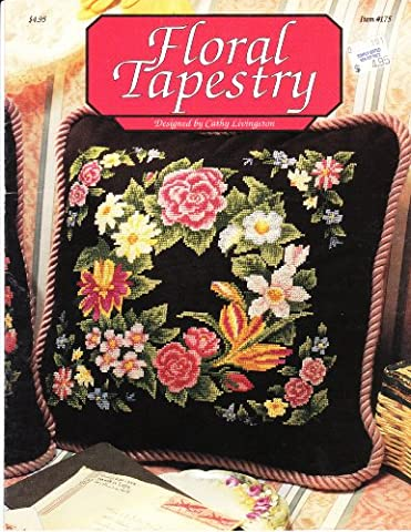 Floral Tapestry Item # 175 - Floral Counted Cross Stitch