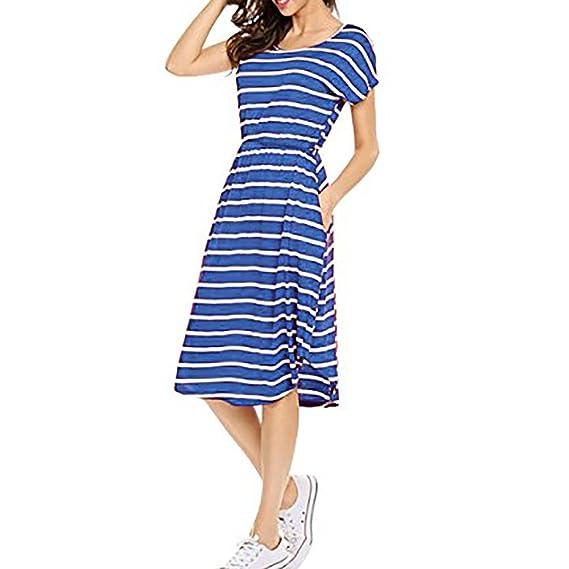 e15396af8 Pijama hombre noche de boda. Damark(TM)) Vestidos Mujer Casual Vestido de  Verano Largo Maxi Falda Mujer Elegante