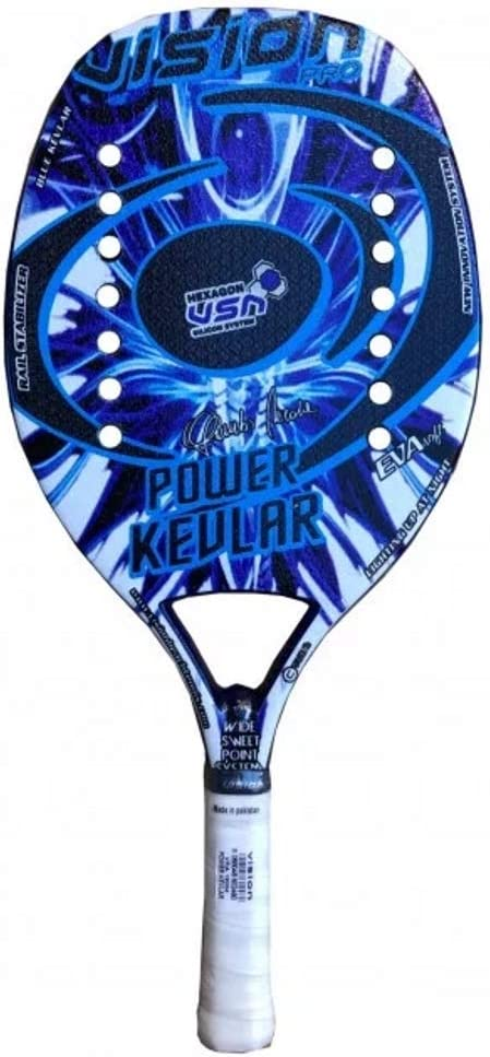 Vision Raqueta Beach Tennis Racket Power Kevlar 2020: Amazon.es ...
