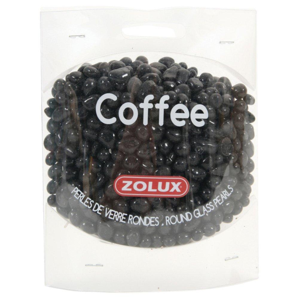 Zolux Perles de Verre Coffee pour Aquariophilie 472 g