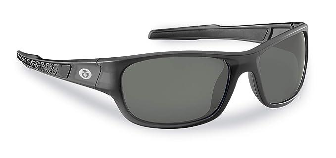 1eabc1870d6f Flying Fisherman Last Cast Polarized Sunglasses for Men and Women. Granite  Frames and Smoke Lens