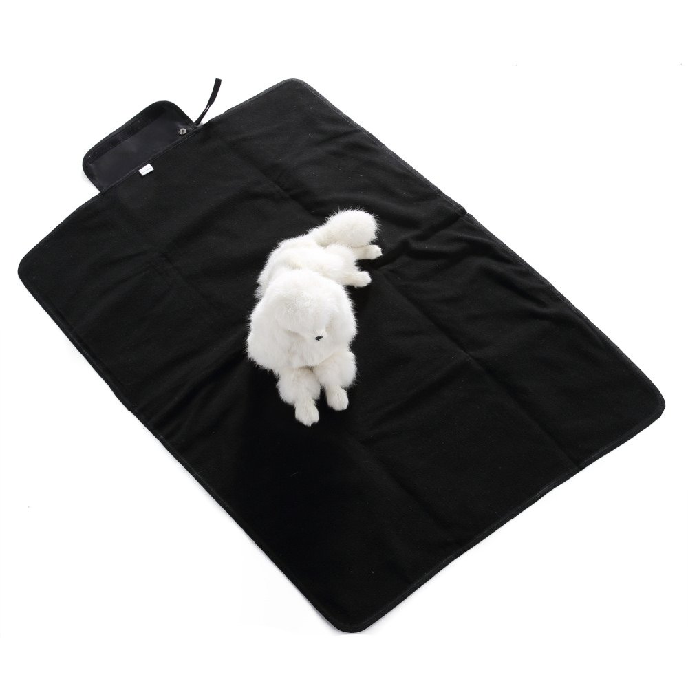 S-Lifeeling Fleece Outdoor Stadium Rainproof and Windproof Blanket - Pet Cat Bed Mattress Soft Quilted for Cute Animal Catty and Doggy Sleeping Playing Resting