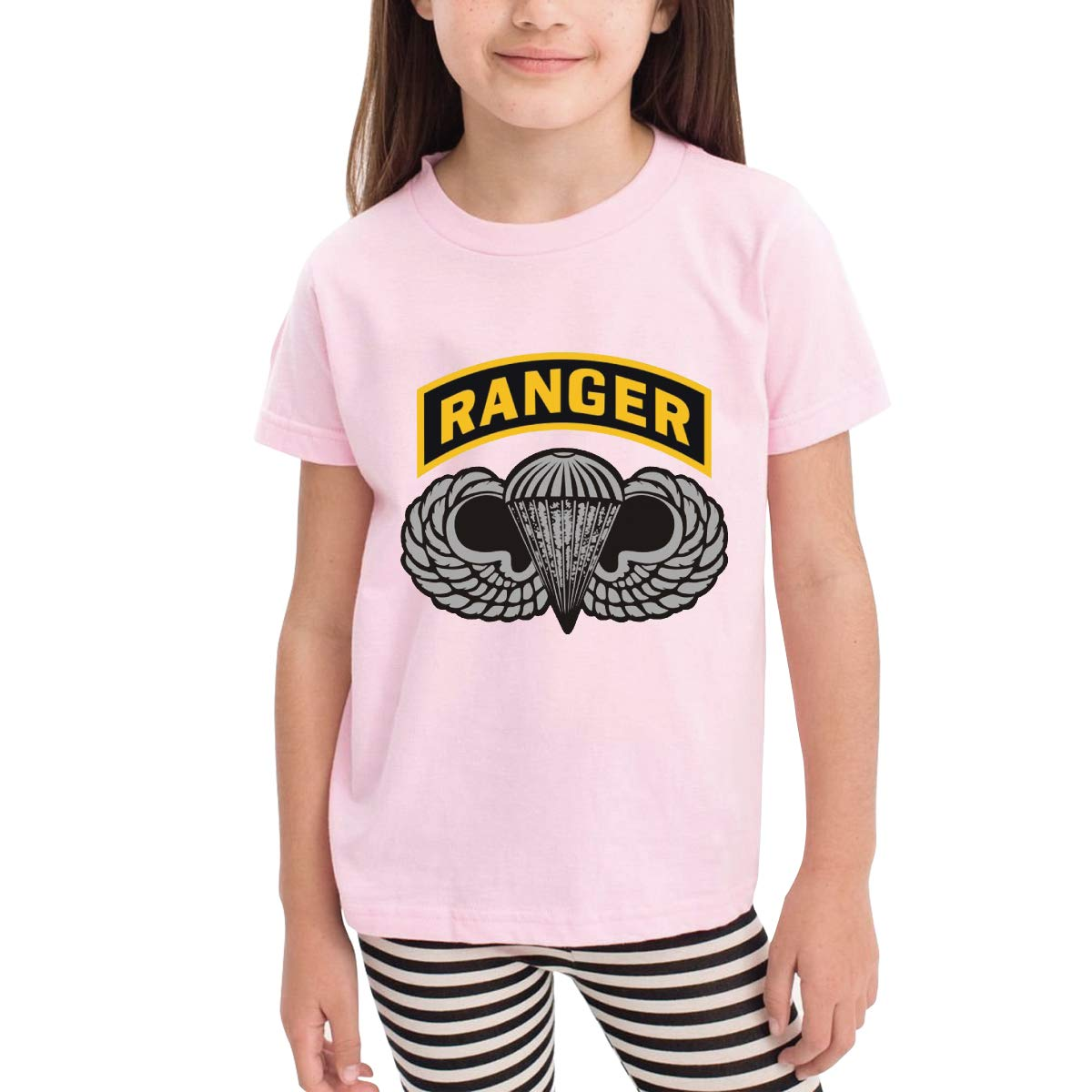 Onlybabycare Us Army Ranger Tab 100/% Cotton Toddler Baby Boys Girls Kids Short Sleeve T Shirt Top Tee Clothes 2-6 T