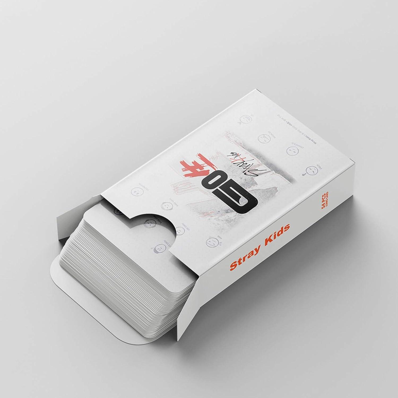 Juego de 54 tarjetas fotogr/áficas HD esmeriladas gerFogoo Kpop Stray Kids Polaroid Lomo