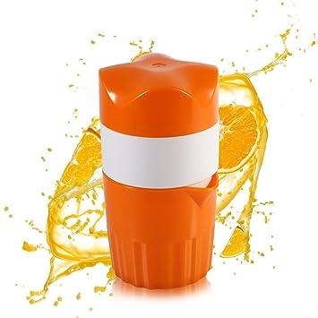 Compra Extractor de jugo de plástico manual de frutas de limón en Amazon.es