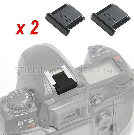 Copri Slitta Flash.Digital Hd 2 Pezzi Protezione Copri Contatti Slitta Flash Compatibile Nikon Canon Pentax Olympus Ecc