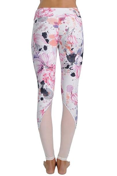 502197368cf585 JALA Half Moon Legging-Floral-XS Womens Active Workout Pant Floral ...