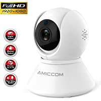 $22 » WiFi Camera-1080P Security Camera System Wireless Camera Indoor 2.4Ghz Home Camera…
