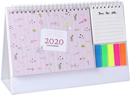 Calendario de escritorio 2019 semanal bloc de notas diario y ...