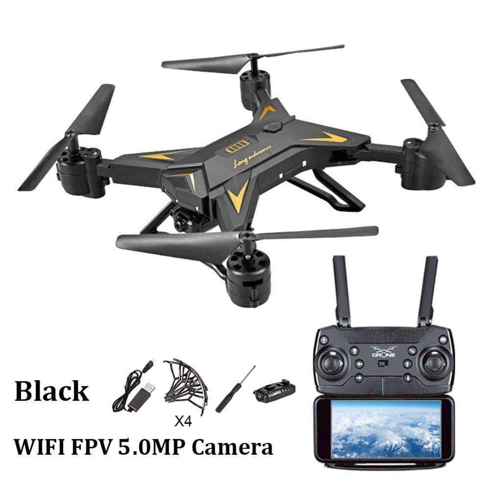 Alian Drone RC Helicopter, Foldable 6-Axis Aircraft HD 1080P WiFi Remote Control with Built-in Battery - Altitude Hold Four-axis