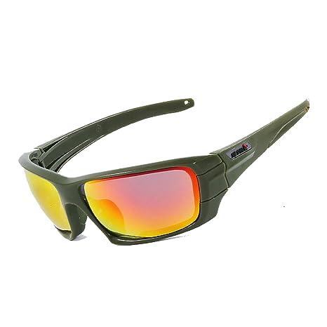 AmDxD PC Polarizado Gafas Protección Juego de Campo Gafas Sol Al ...