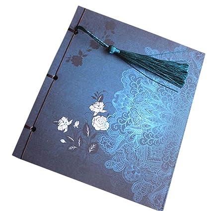 Jipai(TM) Retro Vintage Cuaderno Agenda Bloc Libro Cuaderno ...