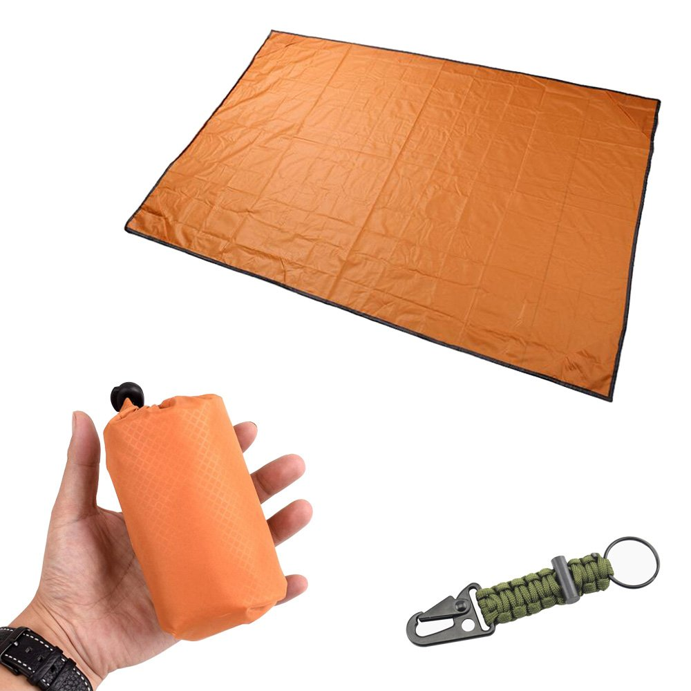 ZeroZo Pocket Blanket - Compact, Picnic, Beach, Outdoor (60inch x 40inch) Made From Premium Soft and Lightweight Waterproof Material Ideal for Camping/Hiking