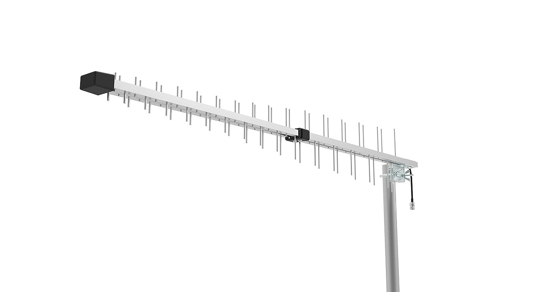 15dbi Log Periodic Yagi Antenna for 3G 4G LTE XLTE AWS iDen PCS 698MHz-2700MHz Wide-Band Citywirelessca