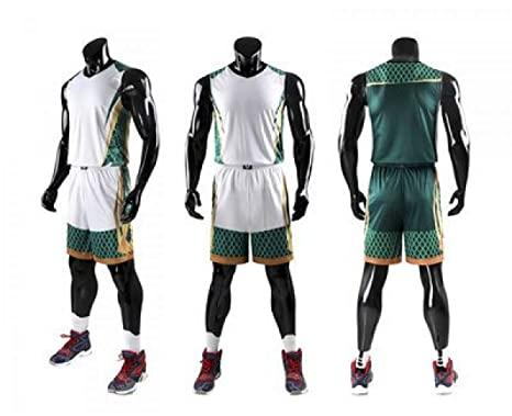d870f24f28cd Image Unavailable. Image not available for. Color  Basketball Training Jersey  Set Pockets Sport Kit Customized Basketball Jersey