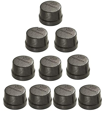 Phenomenal Black Iron Malleable Pipe Cap Fittings 1 2 Inch Threaded Pipes Nipples Caps Diy Pipe Furniture Industrial Piping Plumbing Supplies 10 Pack Creativecarmelina Interior Chair Design Creativecarmelinacom