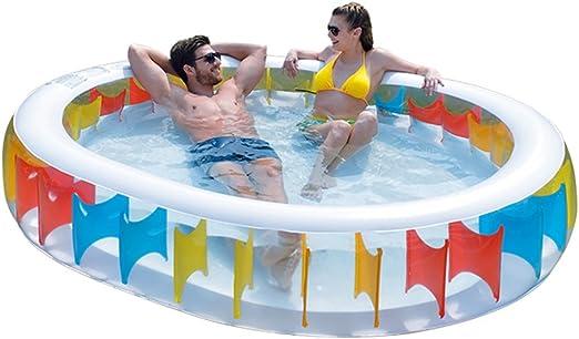 Bañeras con Jacuzzi Hinchable para Adultos para niños Piscina ...