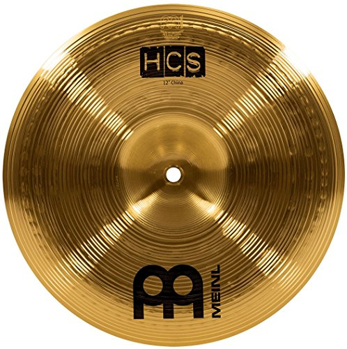 "Meinl 12"" China Cymbal - HCS Traditional Finish Brass for Drum Set, Made In Germany, 2-YEAR WARRANTY (HCS12CH)"