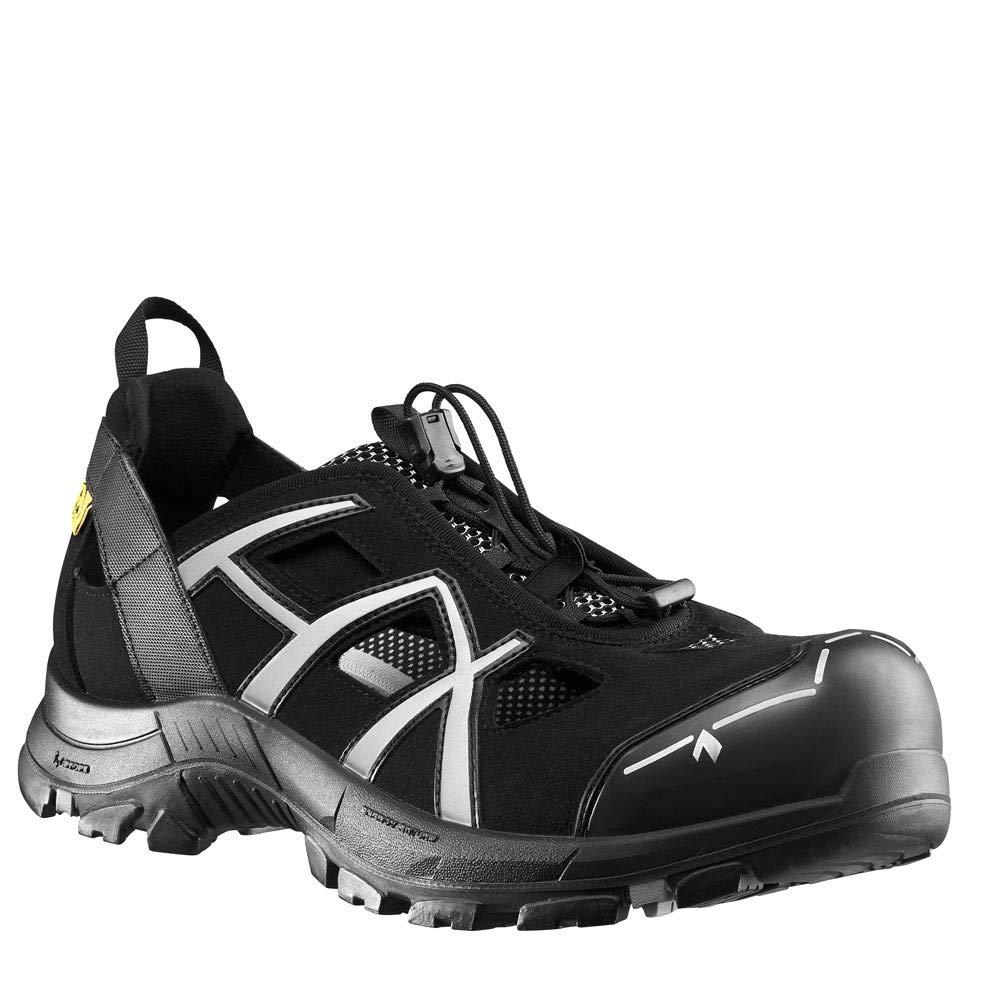Haix schwarz Eagle Safety 62 Niedrig Leichte S1P-Sandale mit Schutz Seitlichen Öffnungen: der Ideale Schutz mit im Sommer - d0290f