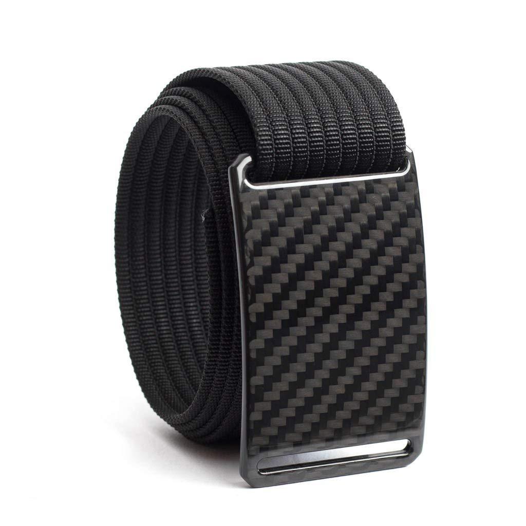 34 Inch Dark Matter Carbon Fiber Men's Belt w/Black Strap