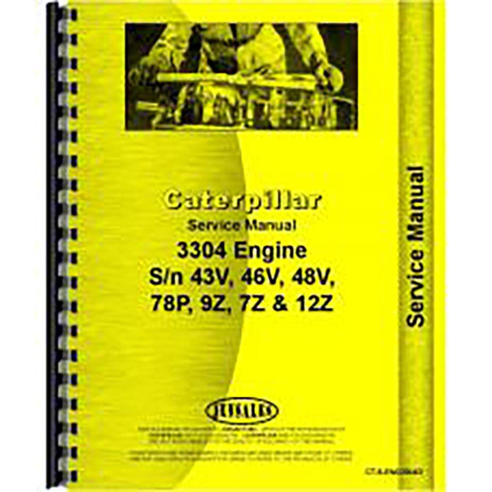 For Caterpillar D4E Engine Service Manual (New) 3304: Amazon.com:  Industrial & Scientific