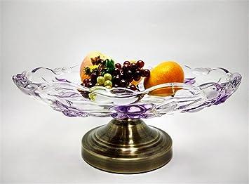 ZWZT Obst Schale Schüssel Salat Herzstück Living Room Geschenke