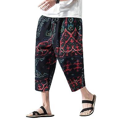 Mosstars Pantalones Deportivos Hombre Fitness Pantalones Casuales ...