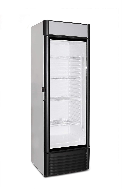 Frigorífico con puerta de cristal con 310 litros de capacidad ...
