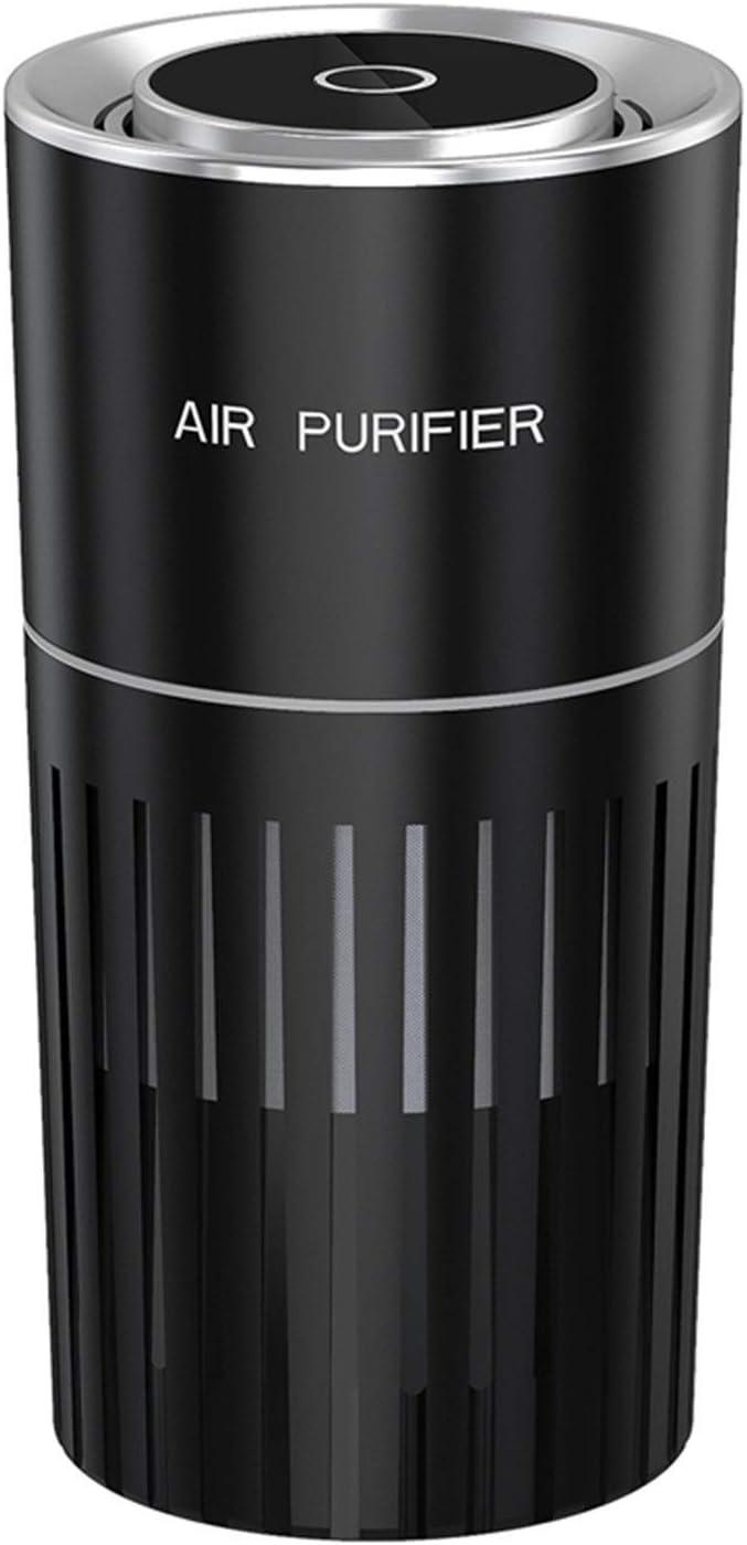 LZRDZSW Purificador de Aire portátil silencioso Coche purificador de Aire de la Manera de Plasma con Filtro de HEPA for mostradores de Alquiler de Inicio, mesitas de Noche