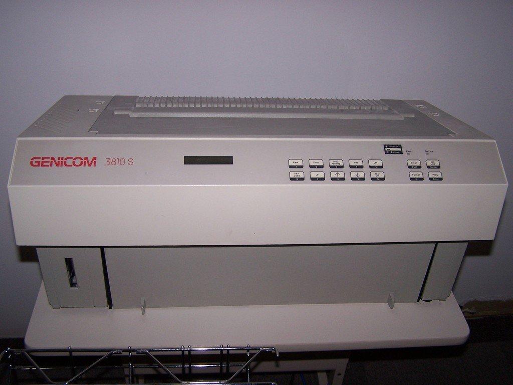 GENICOM 3810S WINDOWS XP DRIVER