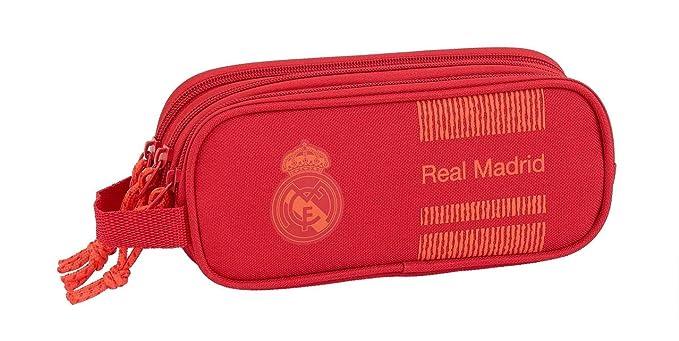 Real Madrid CF- Estuche, Color Rojo (SAFTA 811957635 ...