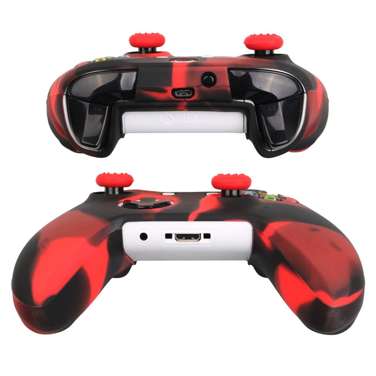 Pandaren® silicone cover skin anti-slip ONLY for Xbox One S / Xbox ...