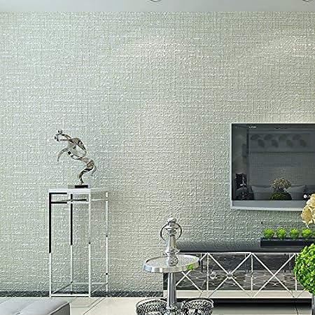 CNMDGBWY Couleur Solide Moderne Papier Peint Texturé Flocage ...