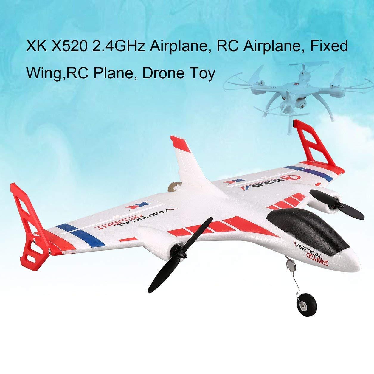 Dailyinshop XK X520 6CH 3D / 6G RC Flugzeug Drone Brushless Vertikal Takeoff Land Delta-Flügel