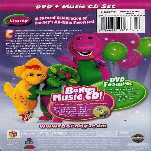 Sing & Dance With Barney [Reino Unido] [DVD]: Amazon.es ...