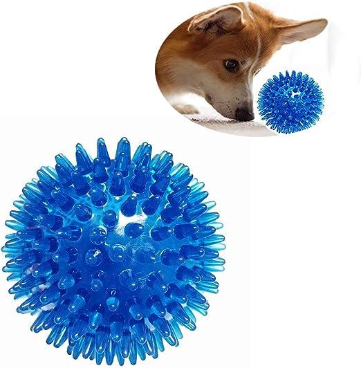 DJLOOKK Pet Squeaky Toys TPR Bola Flotante para Limpieza de ...