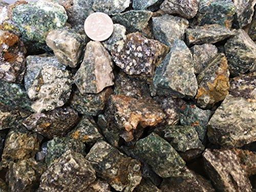 One Pound Natural Rough Ocean Jasper - Crystal Tumbling, Cutting, Cabbing